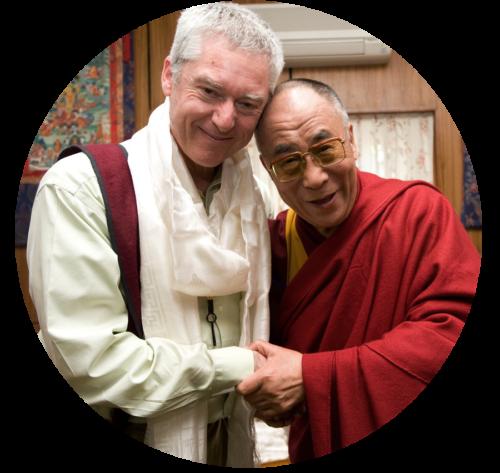 His Holiness the Dalai Lama and Alan Wallace